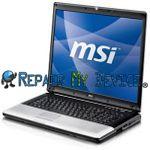 Repair Laptop MSI CR Series